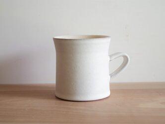 マグカップ・A・マット・白の画像