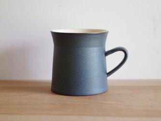マグカップ・A・マット・紺の画像