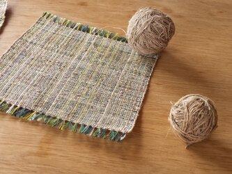 【手織り】アローの敷物の画像