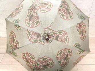 白大島の日傘 夏木立の画像