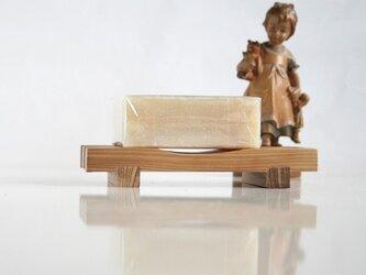石鹸置き yue -湯坐-(e) 【表面:凹面/フラット面】の画像