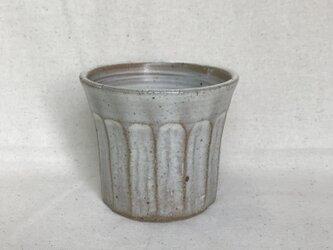粉ひきのフリーカップ(大しのぎ柄)の画像