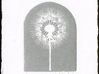 たんぽぽ・2021(シルバー)/ 銅版画 (作品のみ)の画像