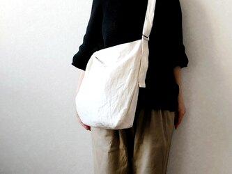 3wayショルダーbag (大) 白の画像