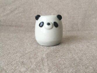 パンダ一輪挿しの画像