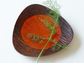 胡桃のおむすび皿(221*221) 0530Cの画像
