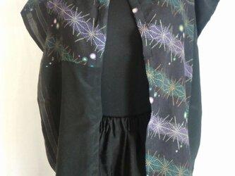 着物リメイク チュニックベスト    3096の画像