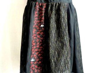 着物リメイクスカート  1383の画像