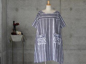 着物リメイク お家ファッション/浴衣のチュニックワンピ/Aラインの画像