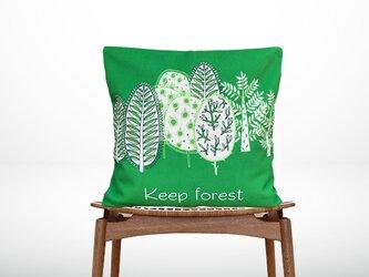 森のクッション keep forest -ヒノキの香り-の画像