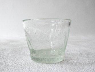 再生ガラスそばちょこ モールー透明(太田潤)の画像