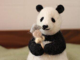 食いしん坊パンダの画像