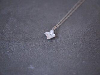 アジサイネックレス Ⅰ silverの画像