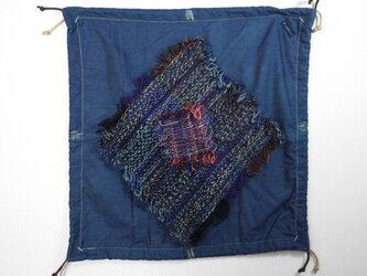 手織りコラボ 結べる風呂敷むすびしきの画像