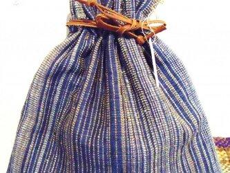 絹巾着の画像
