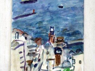 横須賀の海(額無し)の画像