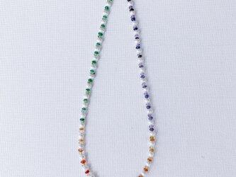 KARAFURUマルチカラーネックレス(1)の画像