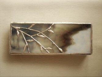 和の硝子のペンケースの画像