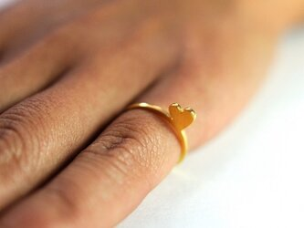 sweet love ring goldの画像
