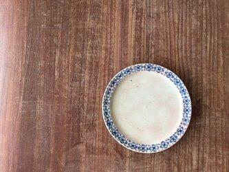 ショートリム5.5寸皿 染付果実紋の画像