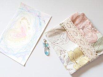 バースデー記念セット☆彡 6月モチーフ・オルゴナイト*アクセサリー+マスクケース+ポストカードの画像