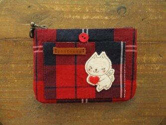 猫天使のカードケースの画像