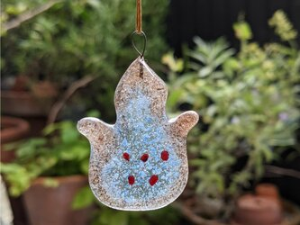 【usuislabo】glass cookies - アジアの花の画像