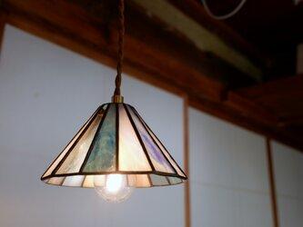 小さな丸屋根の灯り ペンダントライト ブルーの画像