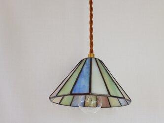 小さな丸屋根の灯り ペンダントライト パステルの画像