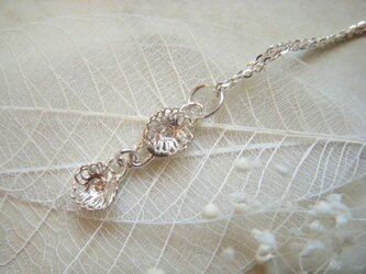 flower ネックレス/ yumi sumiyamaの画像