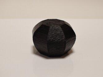 八角渦紋様茶器の画像