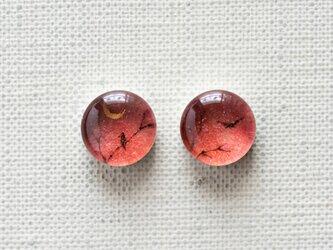 まるい耳飾り09/梢と三日月の画像