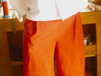 久留米絣縮羽織ブラウスの画像
