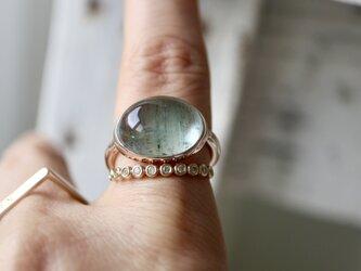 K10[人魚のモスアクアマリン]ringの画像