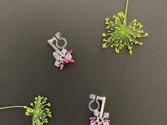 Dill flower -----* クリスタルガラス×ローズ *------の画像