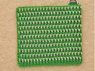 携帯できるマスクケース(グリーン)の画像
