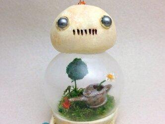 ロボット ガラスドール (丸型)の画像