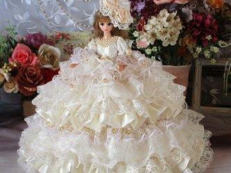 夢見るシンデレラ 妖精が舞うロマンティックミルフィーユドレス 豪華4点セットの画像