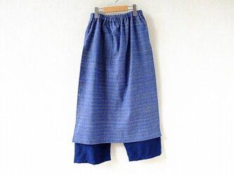 上海木綿のパンツスカートの画像