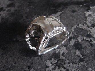 クワガタのリング【受注制作】の画像