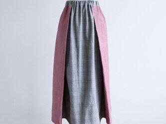 【送料込】歩きやすくて、涼しい!タックが入ったロングスカートの画像