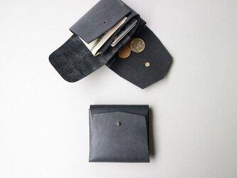 スクエア財布 SUMIKURO (牛革)の画像