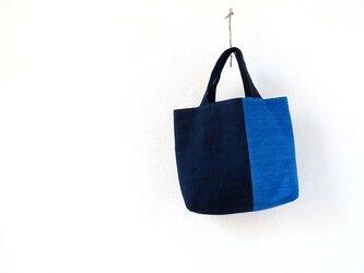 ラオスの山の民のかばん・レンテン藍からの画像