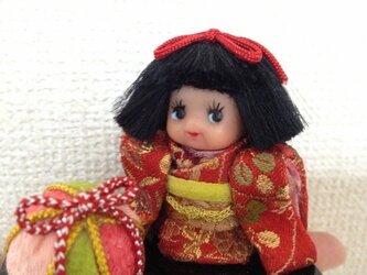 日本人形風キューピーの画像
