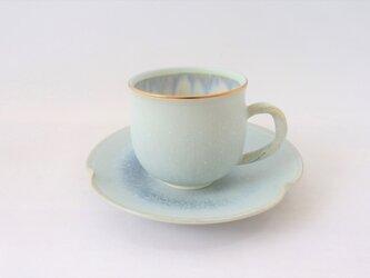 「白麗(はくれい)・金彩」・カップ&ソーサーの画像
