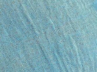 kaya004102 麻布 蚊帳の解き 広幅180cm ☆古布古裂/木綿/筒描き/型染め/藍染/絹/ボロ襤褸の画像