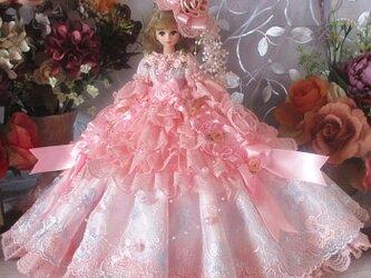 ☆Sale ベルサイユの薔薇 ときめく花園 甘く優しいハニーピンク プリンセスドレスの画像