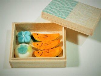 和菓子の詰め合わせ(若鮎)の画像