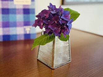 *再販*花瓶・quatre saisons (petit・クリア)の画像
