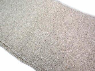 kaya004401 麻布 蚊帳の解き 広幅180cm ☆古布古裂/木綿/筒描き/型染め/藍染/絹/ボロ襤褸の画像